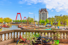 View Of Oude Haven In Rotterda...