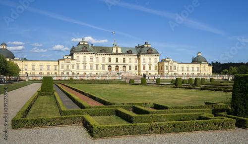 Fotobehang Stockholm Schloss Drottningholm, Stockholm