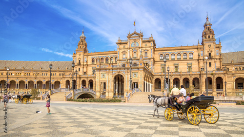 Powierzchnia Hiszpania, Sevilla