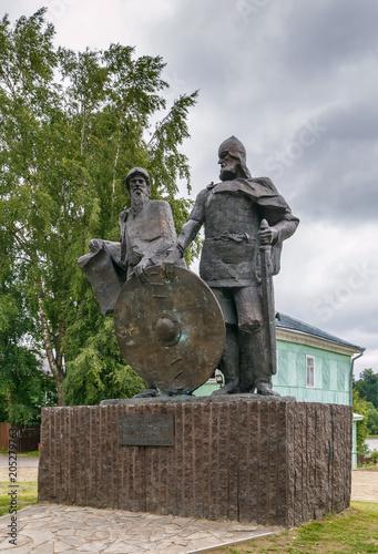 Foto op Canvas Historisch mon. Monument in Staraya Ladoga, Russia