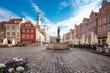 Worth seeing Market Square of Poznan city capital Greater Poland province
