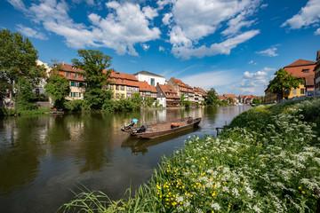 Fototapeta na wymiar Klein Venedig in Bamberg / Bayern