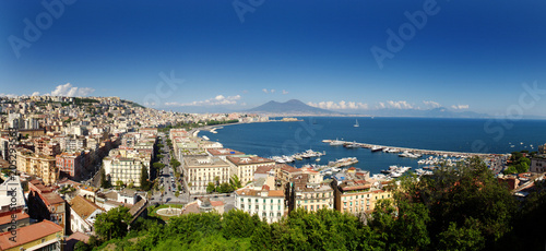 In de dag Napels Napoli