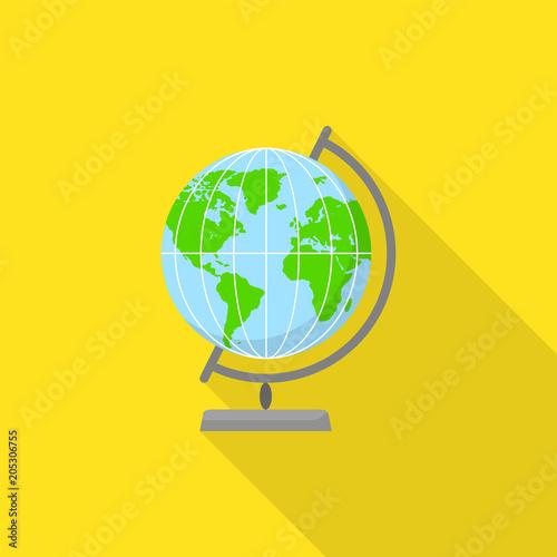 Αφίσα  Geography globe icon
