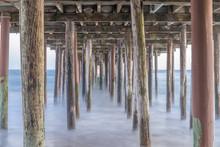 Under The Seacliff State Beach...