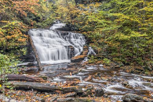 Valokuvatapetti Mohican Falls at Ricketts Glen, Pennsylvania
