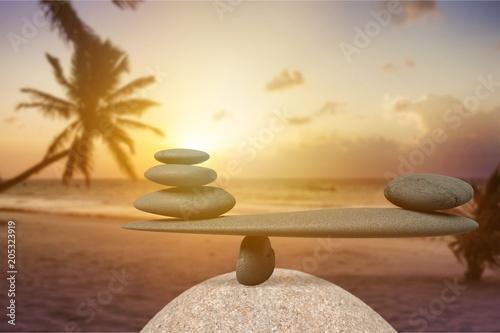 Keuken foto achterwand Edelsteen Balance.