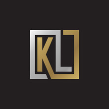 Initial Letter KL, Looping Lin...
