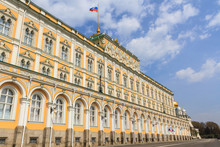 Grand Kremlin Palace Of Moscow...
