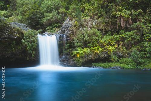 Slika na platnu ile de la Réunion - Cascade Langevin