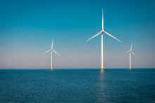 Offshore And Onshore Windmill ...