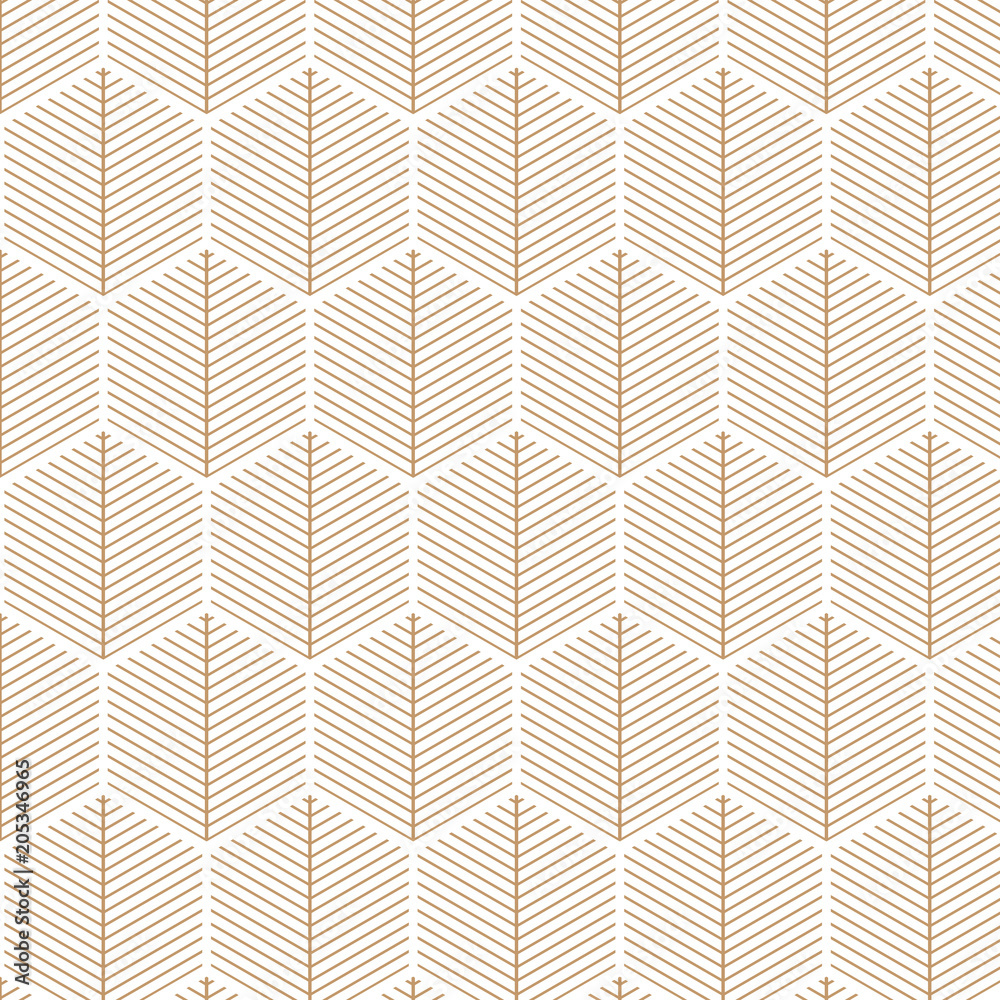 Art deco, elegant, retro, vector pattern.