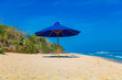 Nunggalan beach, Bali, Indonesia. Exotic landscape of the island.