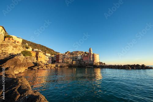 Poster Europese Plekken Ancient Tellaro Village - La Spezia Liguria Italy