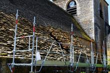 Travaux Rénovation église