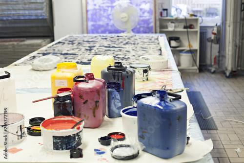 Color buckets in workshop