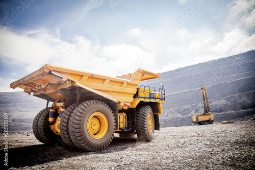 Fototapeta mining operations 4