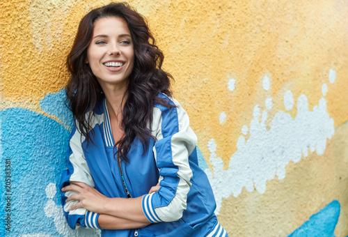 Free Stock Image Of Woman Stylish Graffiti Fashion Portrait