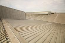 Roof Metal On Top Industrial