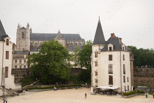 Foto op Aluminium Kasteel Château des ducs de Bretagne Nantes France