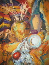 Still Life Painting Drawing Of...
