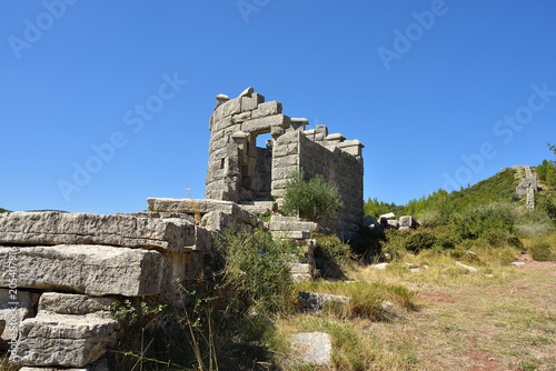 The Arcadian wall, Messinia, Greece Slika na platnu