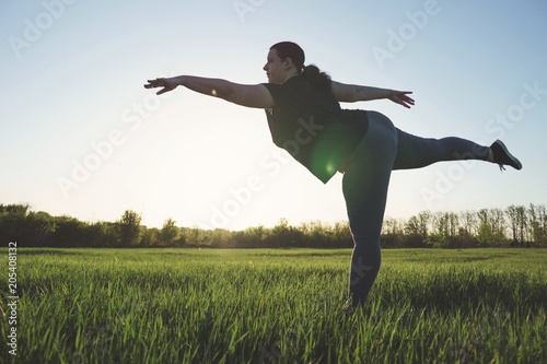 Fotografía  Body positive, confidence, high self esteem