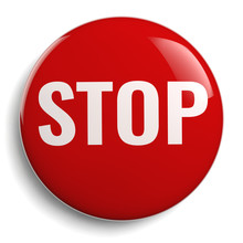 Stop Sign Red Graphic Symbol I...