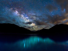 Milky Way Reflection In The Ui...