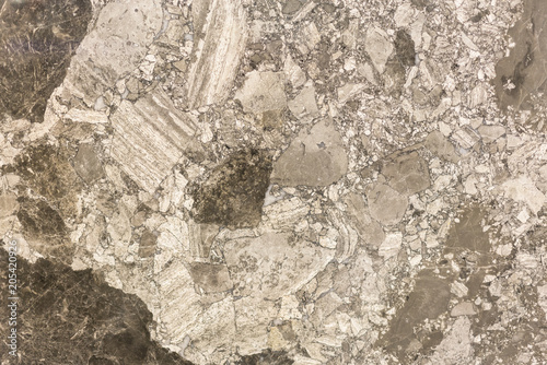 Aluminium Prints Old dirty textured wall Brown marble with a beautiful pattern. background.