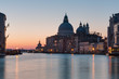 Santa Maria della Salute at sunrise in Venice, Italy