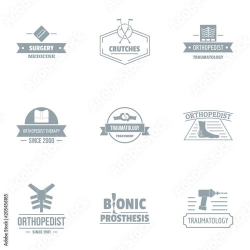 Fotografie, Obraz  Bionic logo set