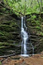Waterfall Located On Warwoman ...