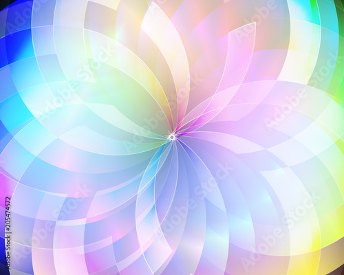 Abstract vector background composed of simple elements Canvas-taulu