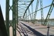 Bridge over Danube river in Komarno, Slovakia