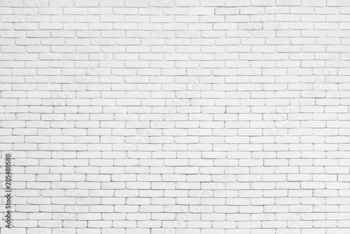 Valokuva Abstract background from white brick pattern wall