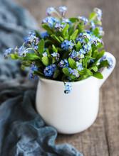 Bouquet Of Forget Me Nots