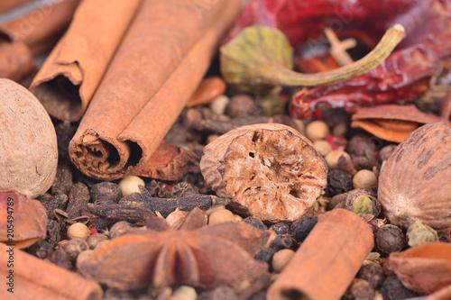 Tuinposter Kruiderij Aroma spices