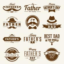 Happy Father's Day Design Coll...