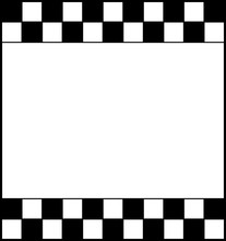 Checkered Chess Board With Whi...