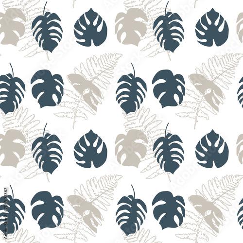wzor-botaniczny-tlo-w-liscie-monstery
