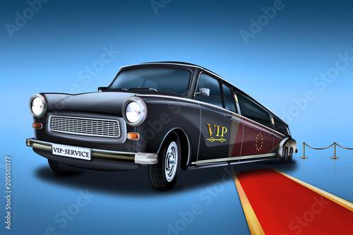 Fotografia  Trabant 601 Stretchlimousine, Vip Car