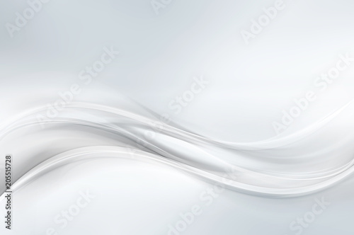 Photo Stands Abstract wave White Soft Lines Background