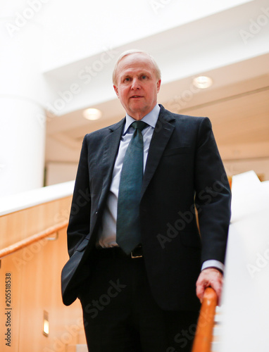 Group Chief Executive of BP Bob Dudley poses for a