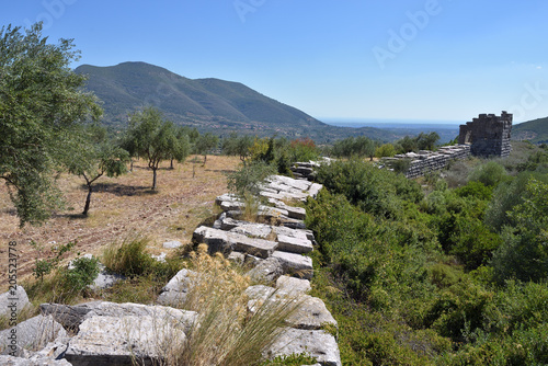 The Arcadian wall, Messinia, Greece Canvas-taulu