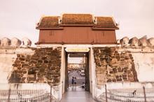 THAILAND ISAN KHORAT CITY WALL CHUMPHON GATE