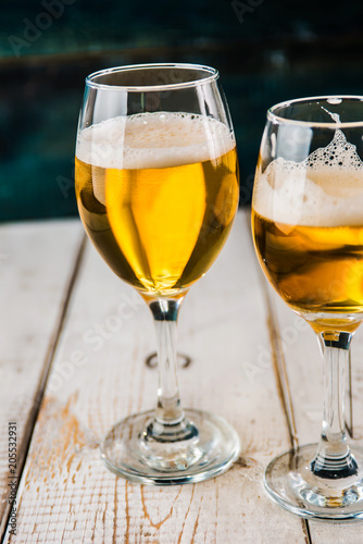 Fotobehang Bier / Cider Rockn Roll Beer