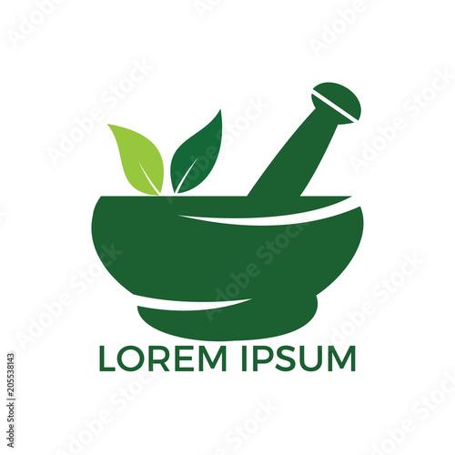 Cuadros en Lienzo Pharmacy medical logo design