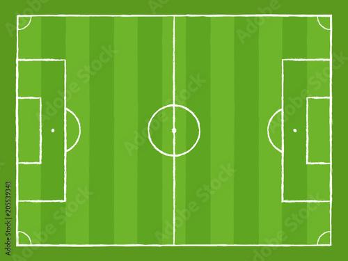 Obraz Fußball Spielfeld - fototapety do salonu