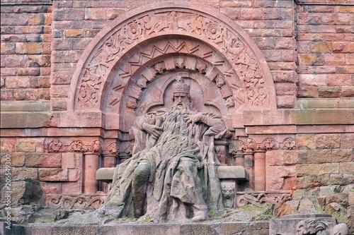 Photo Friedrich I. Barbarossa – Kyffhäuserdenkmal